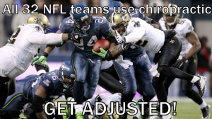 Sports chiropractor for the NFL
