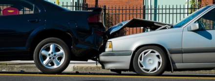 Rear end collision car accident whiplash chiropractor portland oregon