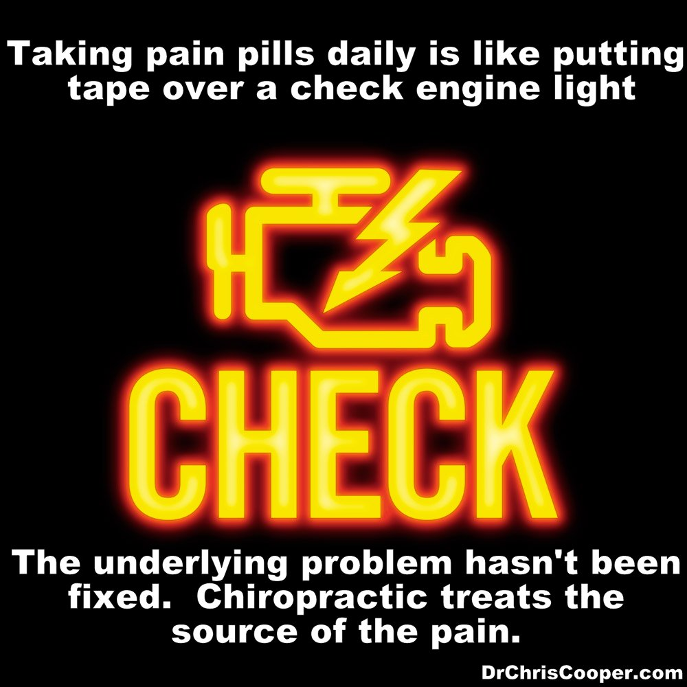 Check engine light chiropractor portland oregon chris cooper