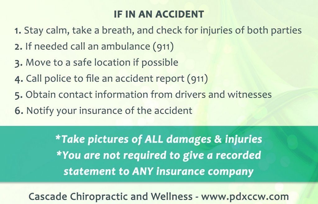Insurance Info Needed Car Accident