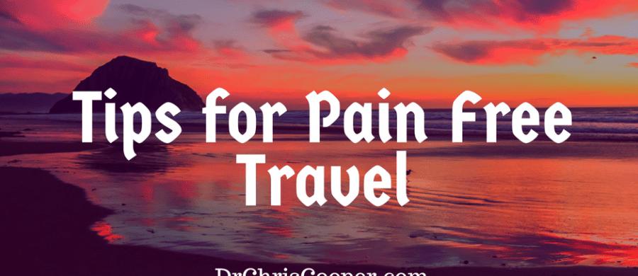 travel pain portland oregon chiropractor dr chris cooper