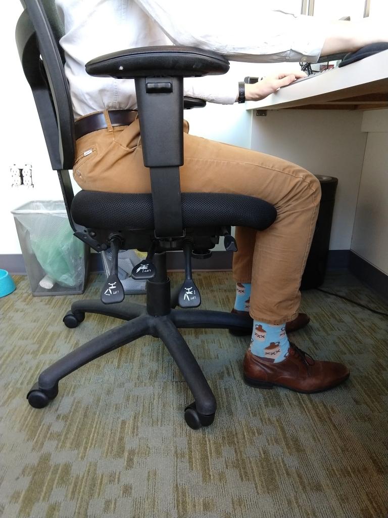 Chair Height Ergonomics