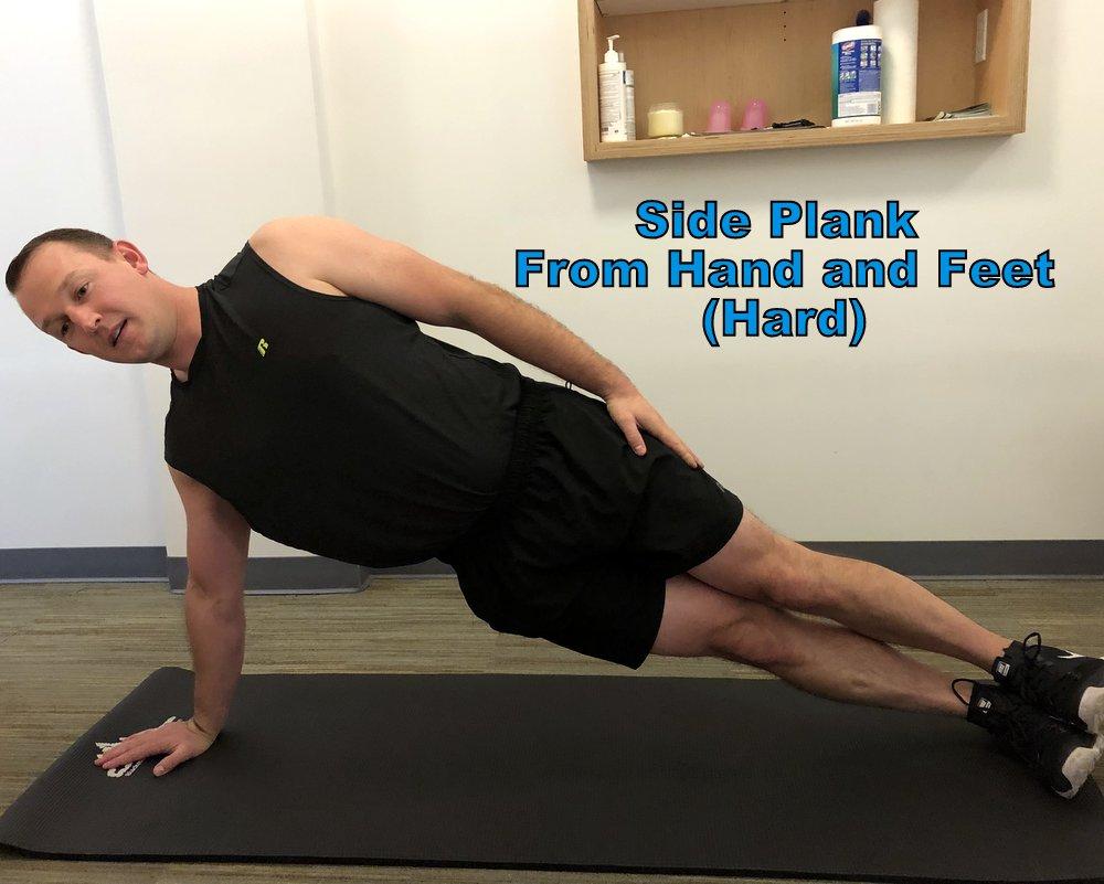 Side plank progression portland